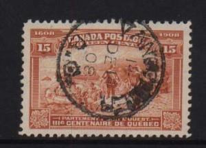 Canada #102 Used Superb CDS Cancel