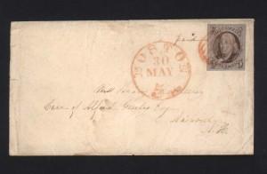 USA #1 XF Used On Cover