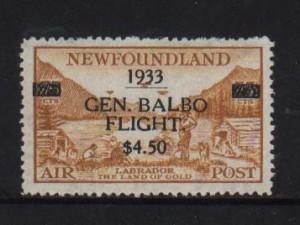 Newfoundland #C18 VF/NH