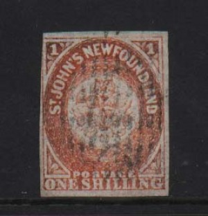 Newfoundland #15 VF Used