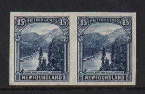 Newfoundland #142a XF Mint Imperf Pair