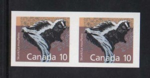 Canada #1160iv XF/NH Imperf Pair
