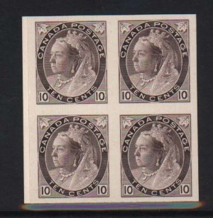 Canada #83P XF Mint Proof Block Of Four