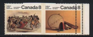 Canada #575b XF/NH Imperforate Between Pair