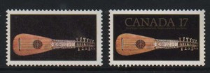 Canada #878i XF/NH Triple Error