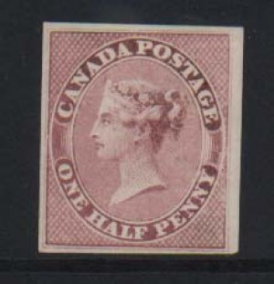 Canada #8 XF/NH Gem  **With Certificate**