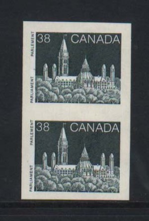 Canada #1194ae XF/NH Imperforate Pair