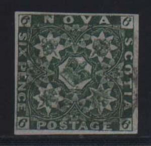 Nova Scotia #5 XF Used Rare Classic