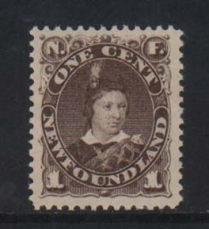 Newfoundland #43 XF/NH Gem  **With Certificate**