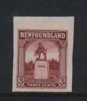 Newfoundland #133TCDP XF Trial Color Die Proof In Carmine