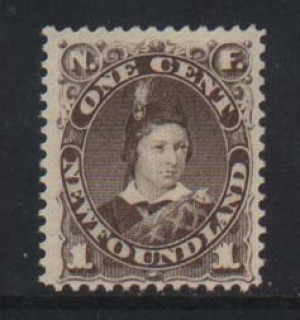 Newfoundland #43 VF/NH  **With Certificate**