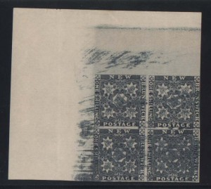 New Brunswick #3TC4 XF Mint Proof Block Of Four
