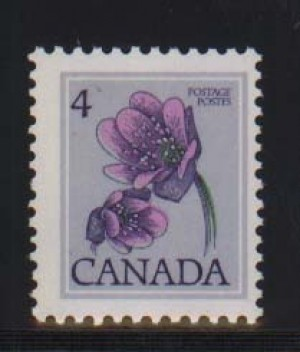 Canada #709a NH Mint Printed On Gum Side