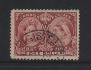Canada #61 XF Used  **With Certificate**