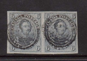 Canada #2 XF Used Gem Pair **With Three Certificates**