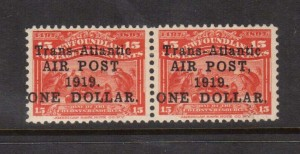 Newfoundland #C2 #C2a VF Mint Pair  **With Certificate**