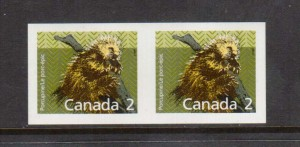 Canada #1156ii XF/NH Imperforate Pair