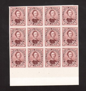 Canada #17TCi XF Proof Block Of 12 India On Card