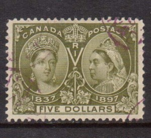 Canada #65 XF Used Gem  **With Certificate**