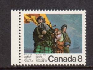Canada #619i VF/NH On Yellow Paper  **With Certificate**