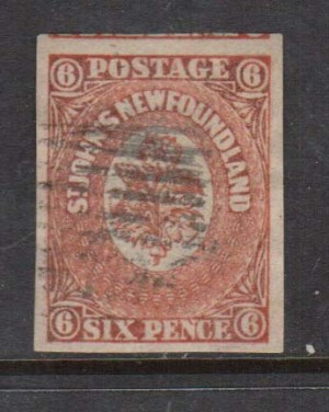 Newfoundland #13 Used  **With Certificate**