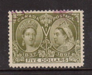 Canada #65 Used Superb Gem  **With Certificate**