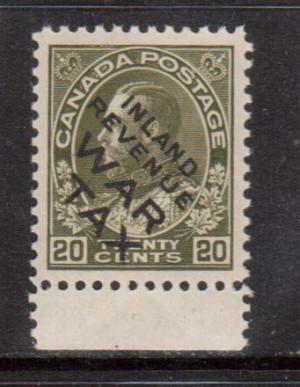 Canada #MR2ci XF/NH Gem **With Certificate**