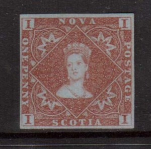 Nova Scotia #1 VF+ Mint  **With Certificate**
