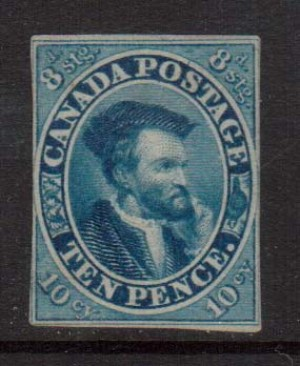 Canada #7a Mint  **With Certificate**
