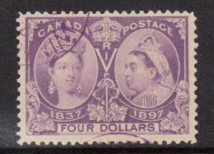 Canada #64 VF Used With Winnipeg Magenta Cancel  **With Certificate**