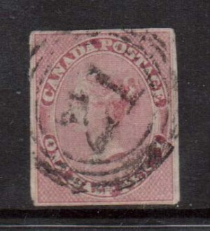Canada #8b Used **With Certificate**