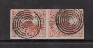 Canada #1 Used Scarce Pair  **With Certificate**