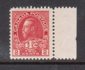 Canada #MR3a VF/NH **With Certificate**