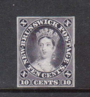 New Brunswick #9TCi Die Proof In Slate Violet Variety **With Cert.**