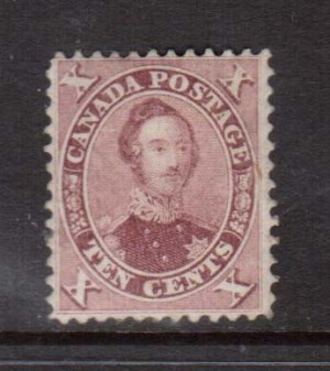Canada #17 VF Mint **With Certificate**