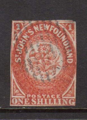 Newfoundland #15 Used **With Certificate**
