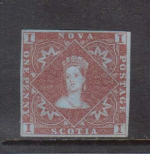 Nova Scotia #1 VF Mint **With Certificate**