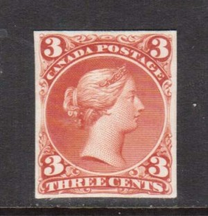 Canada #25P VF Plate Proof