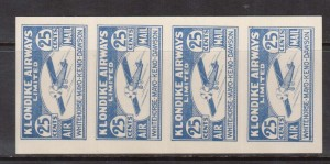 Canada #CL45 XF/NH Pane Of Four
