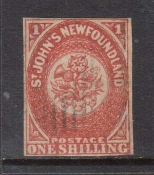 Newfoundland #9 Used Rare Classic **With Certificate**