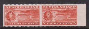 Newfoundland #236c XF/NH Pair **With Certificate**