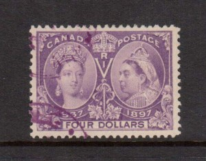 Canada #64 VF Used With CDS Cancels **With Certificate**