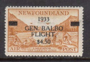 Newfoundland #C18 VF Mint **With Certificate**