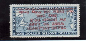 Newfoundland #C12a VF Mint **With Certificate**