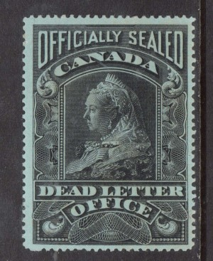 Canada #OX2 VF Mint **With Certificate**