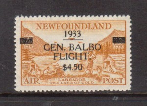 Newfoundland #C18 XF/NH **With Certificate**