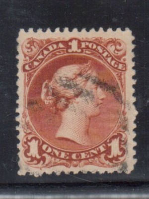 Canada #31 XF Used **With Certificate**