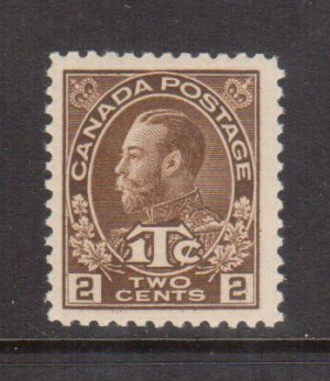 Canada #MR4a VF/NH Die 1 Wet Printing **With Certificate**