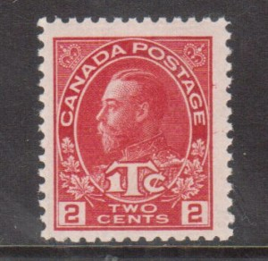 Canada #MR3a VF/NH Die II **With Certificate**