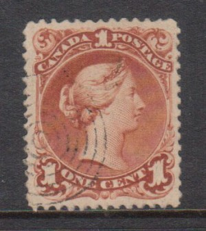 Canada #31 XF Used Gem **With Certificate**